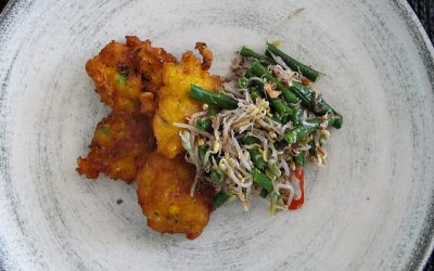 Arie's famous Corn Fritters